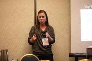 Letitia presenting at NCFR